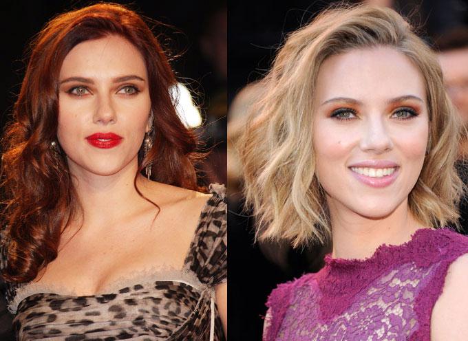 Scarlett Johansson Natural Hair Color