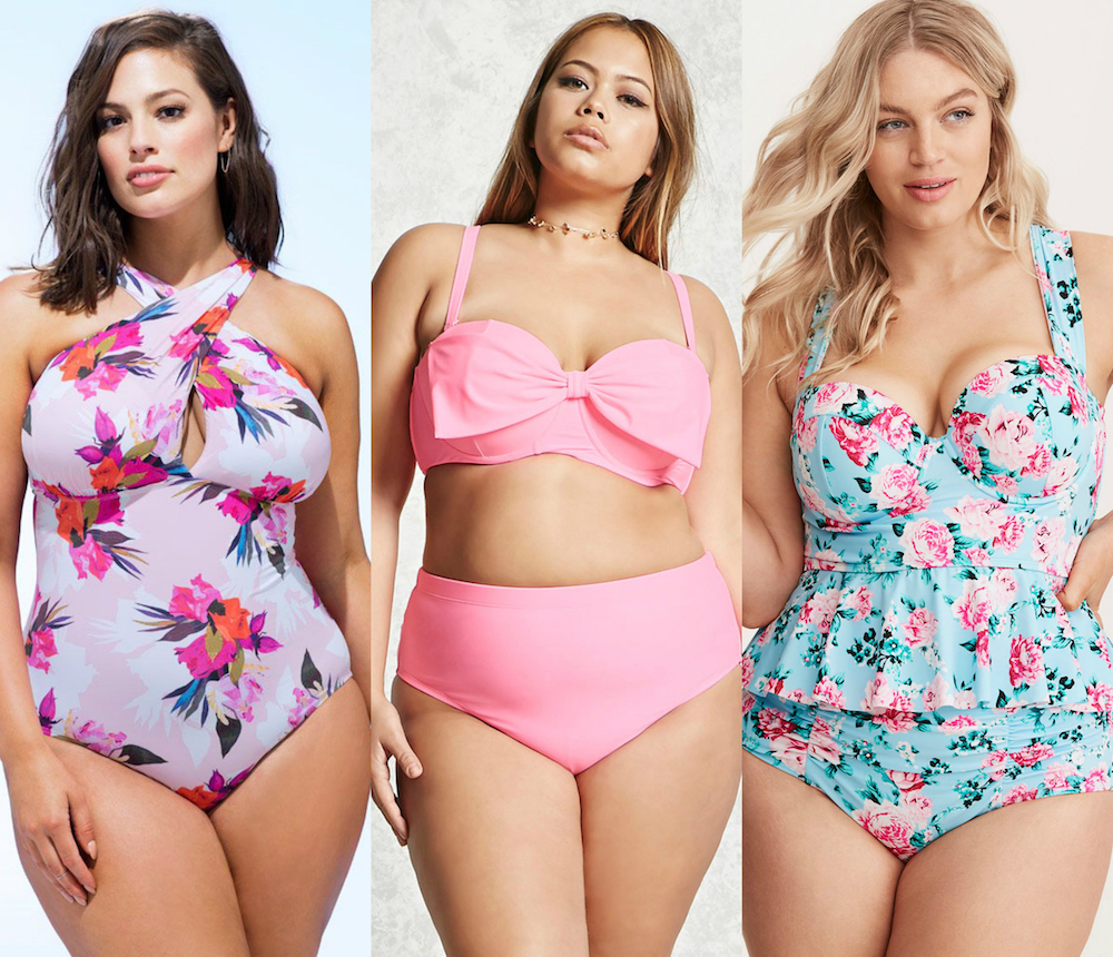 More Choices for Amazing Women's Plus Size Bathing Suits